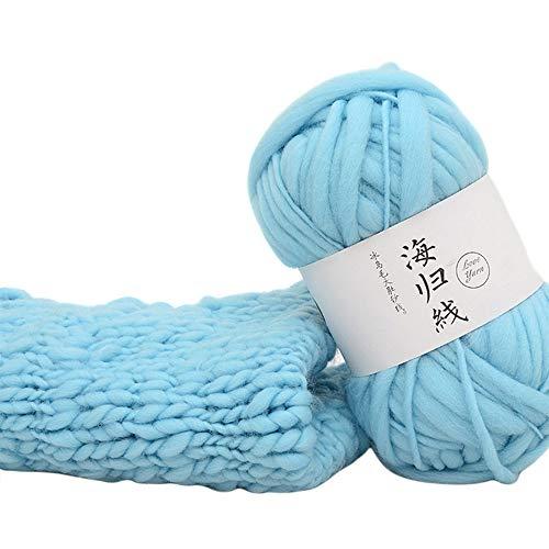 FATESHOP Show Neue 50G Handgewebte Multicolor Crochet Soft Strickgarn Faser Naturgarn Geeignet Zum Weben Von Schals, TüChern, Pullovern, HüTen, Schuhen, Kissen Usw.