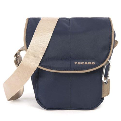 Tucano CBS-HL-B Scatto Holster Tasche für Reflex Kamera (Außenfach, verstellbarer Trageriemen) blau (Reflex-kamera)