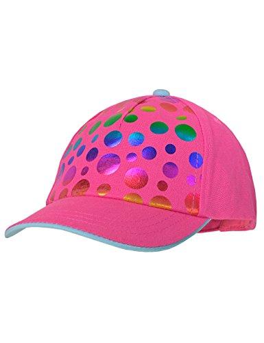 maximo Baby-Mädchen Kappe Cap Dots, Rosa (Dunkelpink 57), 49/51