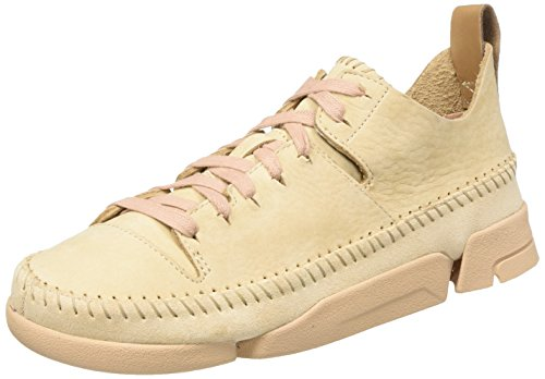 96f58428e5 Clarks Originals Trigenic Flex, Women's Low-Top Sneakers, Pink (Pink Nubuck),  7 UK (41 EU) - Buy Online in Oman. | Shoes Products in Oman - See Prices,  ...