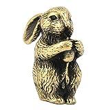 B Blesiya Animale Modello Cinese Zodiaco Bruciatore Porta Incenso Statua Decorazione Abbellimenti - Coniglio