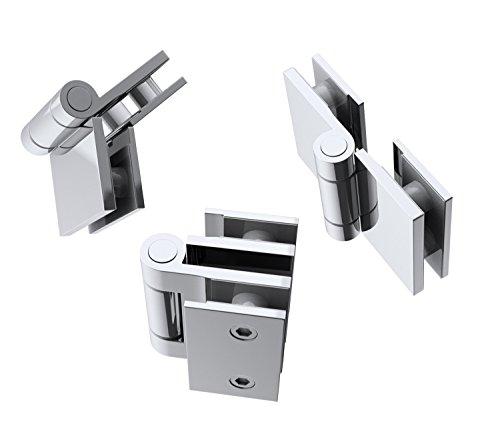 Duschabtrennung / Duschwand für Badewane aus Glas Cortona1408S-rechts, Wandanschlag rechts, inkl. Nanobeschichtung - 7