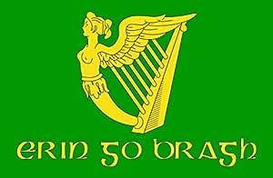magFlags Flagge: XL Erin Go Bragh | Irish nationalist flag version of Image Erin Go Bragh flag | Querformat Fahne | 2.16m² | 120x180cm » Fahne 100% Made in Germany