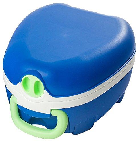 My Carry Potty Töpfchen / Reise Toilette tragbar + auslaufsicher, blau