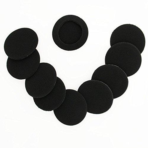 Ersatz-Schaum-Ohrpolster, Ohrpolster-Schwamm, Polster-Abdeckungen für folgende Kopfhörer: Logitech H600 H330 H340 Sony MDR G101LP G42LP DR-220DPV G45 IF240R SRF-HM33 MDR NC5 NC6s 023 10 Paar 60 mm - 6
