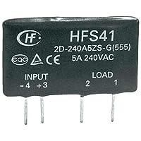 Hongfa Halbleiterrelais HFS41/D-380A5Z-NG Last-Strom (max.): 5A Schaltspannung (max.): 440 V/AC 1St.