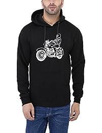 Weardo Printed Hooded Sweatshirt