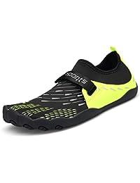 e5cc7805fd7f1 Donna Uomo Estate Accogliente Scarpe da Spiaggia Sport Acquatici Immersione  Scarpette Beach Swim Surf Yoga Aqua Luce Shoes 35-46…