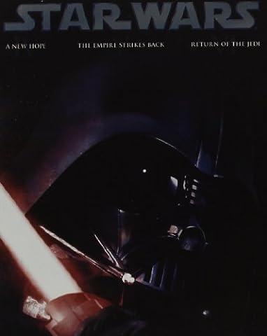 STAR WARS - Trilogie EPISODE IV-VI + STEELBOOK + Blu-ray