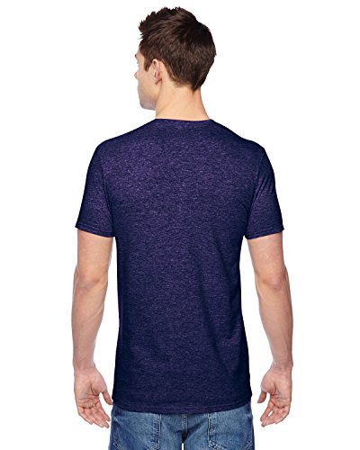 SF45 Fruit of the Loom Herren T-Shirt Violett - HEATHER GRAPE