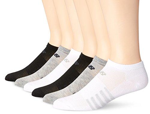 New Balance Unisex-Socken, 6er-Pack, Damen Unisex-Erwachsene, Ast3, Medium