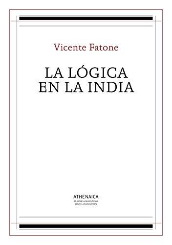 La lógica en la India (Filosofía de la Religión nº 5)