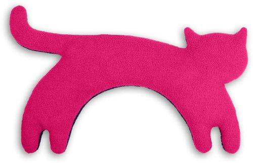 Leschi 36528 - Almohadilla de calor (para las cervicales y los hombros), La gata Minina | de pie | grande, color: