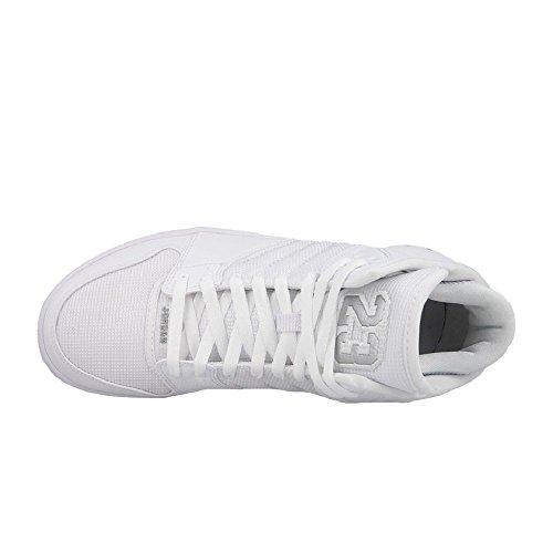 Nike - Jordan 1 Flight 4, Chaussures Sport Hommes Blanc / Argent (blanc / Argenté Métallique)