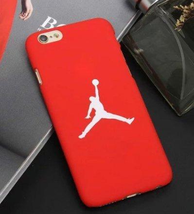 coque iphone 6 michael jordan rouge