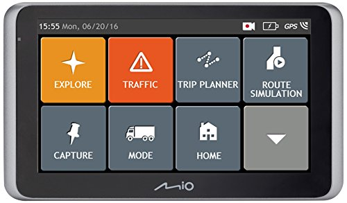 "Cámara LCD GPS de salpicadero coche Mio MiVue 65 LMFull HD 1080p 2,7"", grabadora de accidentes., pantalla de 6.2 inches, 0.295 kilograms, Cámara de salpicadero y navegador satélite"