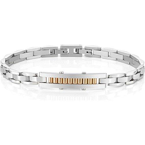 bijoux-pour-hommes-secteur-bracelet-collection-carrefour-acier-poli-et-satine-pvd-rose-convient-a-22