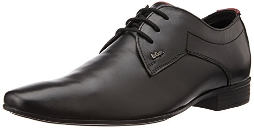 Lee Cooper Men's Black Leather Formal Shoes - 8 UK