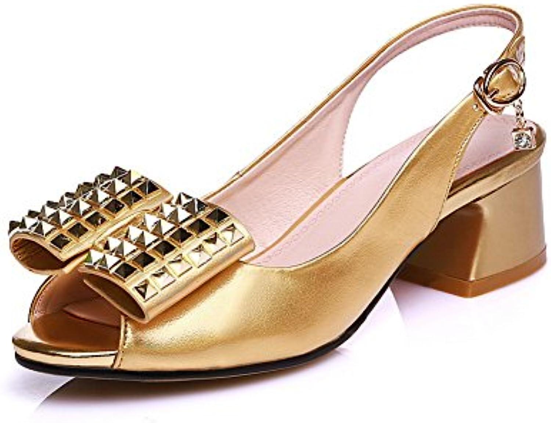 Gentiluomo Gentiluomo Gentiluomo   Signora AN, Ballerine Donna, oro (oro), 35 Design affascinante moderno Taohuo | Prima qualità  d9dd5b