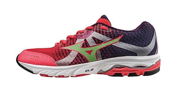 Mizuno Running Shoes Woman Wave Elevation WOS J1GL141764 Rosa Verde Viola  Size 40 by Mizuno  Amazon.it  Sport e tempo libero a57ac4f4b99