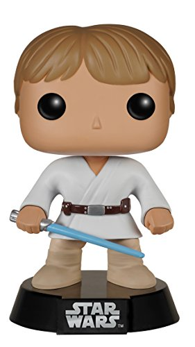 Funko - Figurina Star Wars - Luke Tatooine Pop 10Cm - 0849803057107