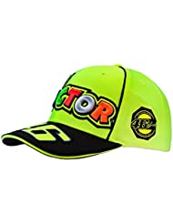 Casquette The Doctor Fluo VR46Messieurs Rossi, jaune, One Size