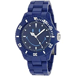 "Smiley ""Happy Time"" Men's Urban Dark Blue Analogue Watch WGS-UDBV01"