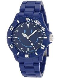 Smiley Happy Time Unisex-Armbanduhr Analog blau WGS-UDBV01