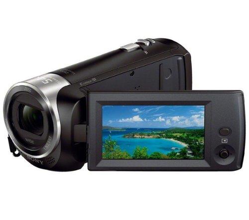 Sony HDR-CX240EB Camcorder Camera (Black)