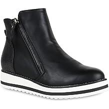 176df6a465ba Suchergebnis auf Amazon.de für: plateau ankle boots blockabsatz
