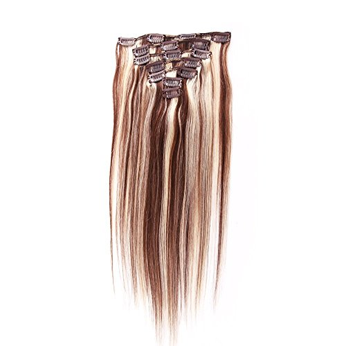 Brazilian Sexyqueenhair capelli clip in, extension lisce