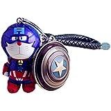 Metal Llavero Doraemon Héroe