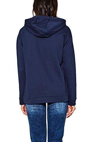 edc by ESPRIT Damen Sweatshirt Blau (Navy 400)
