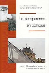 La Transparence en politique