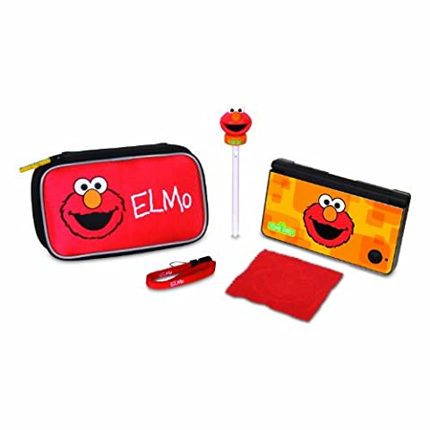 dreamGEAR Sesame Street 5-in-1 Starter Kit for Nintendo DSi XL,