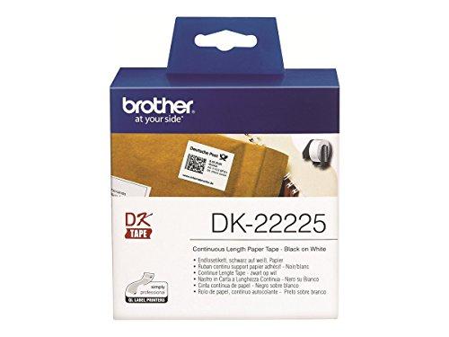 Brother DK22225 - Cinta continua papel térmico blanca