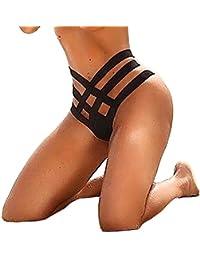PAOLIAN Braguita Tanga Bikini sexy Heuco Mujer Bottom Bañarse Playa Ropa interior Verano 2018 Ropa de Baño Playa Cruz de Ropa Cintura…