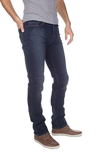 Redman Fredo Denim-Jeans Dirty-Herren Blau - DIRTY