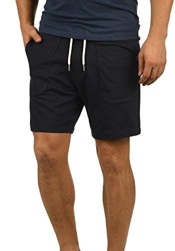 Blend Mulker Herren Sweatshorts Kurze Hose Jogginghose Mit Kordel Regular Fit, Größe:M, Farbe:Black (70155) -