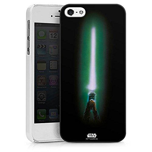 Apple iPhone X Silikon Hülle Case Schutzhülle Star Wars Merchandise Fanartikel Lichtschwert Hard Case weiß