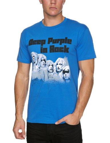 T shirt M Deep purple - In rock (T shirt taille medium)