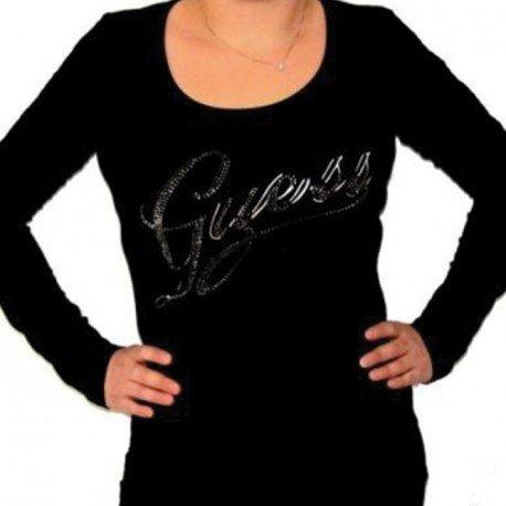 tshirt-guess-w14i10je900-manches-longues-femme-noir-m-noir