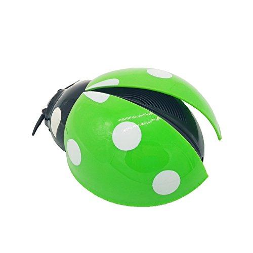 Preisvergleich Produktbild Auto Luftreiniger Bakterien abzutöten Ladybug Fahrzeug Luftreiniger Auto Luftreiniger Negativ-Ionen-Generator Ozon-Generator (grün)
