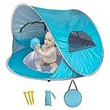Aappy Baby tenda da spiaggia con paralume in piscina, Pop Up Portable Pool protezione UV Sun Shelter per ovetto Sun Shelter da trasporto inclusa, all' interno o all' esterno gioco per bambini