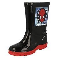 Boys Wellington Boots - Spiderman