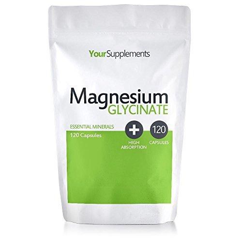 Your Supplements - Magnesium Glycinat (120 Kapseln) -