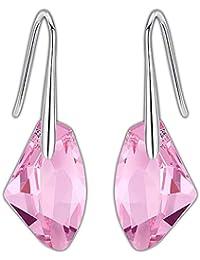 1bebf124c66a Swarovski Pendientes Mujer- Aretes de Plata Fina 925 para Mujeres con  Cristales Swarovski de GoSparkling