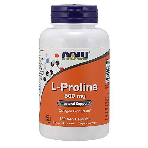 Now Foods L-Proline 500mg Standard, 120 Kapseln