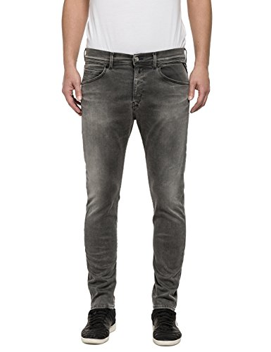 Replay Herren Jeanshose Ezhir Grau (Grey Denim 9)