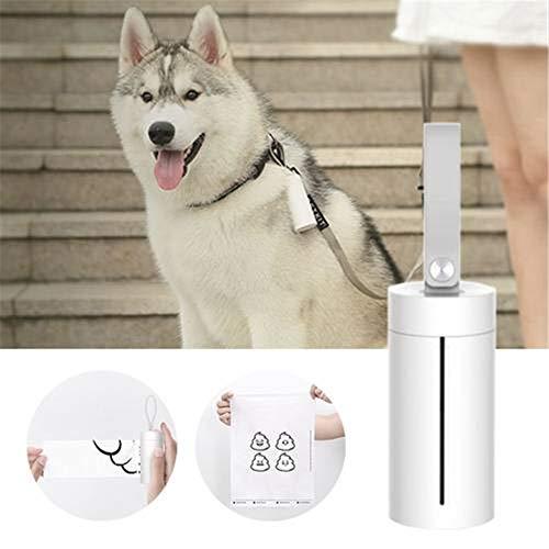 Yeying123 Caja de Basura portátil dispensador Portador Porta desechos Bolsa de Mascotas Perro o Gato con Bolsas de Caca